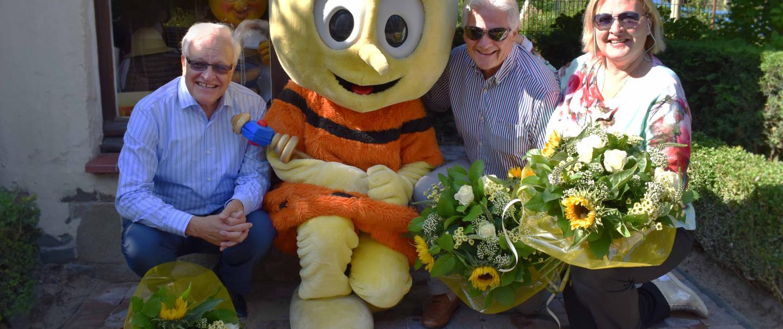 Famille Florizoone honorée pendant les Meli Park Revival Weekends à Plopsaland La Panne