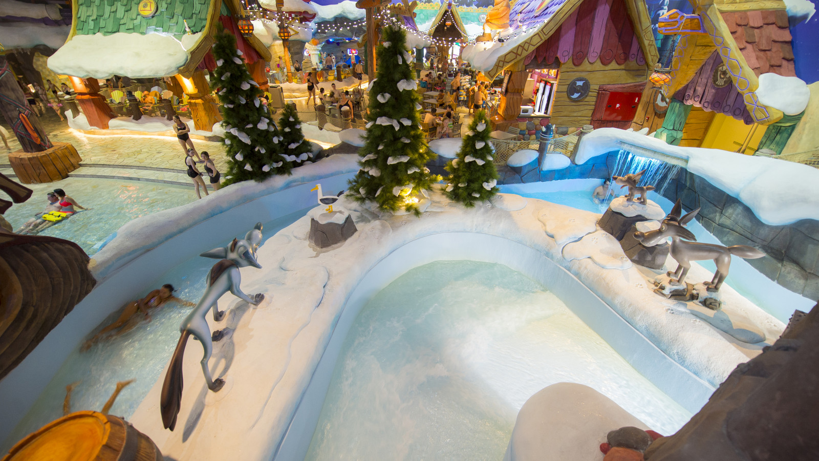 Découvrez le monde magique de Mayaland Indoor et Plopsaqua La Panne pendant les vacances d'hiver