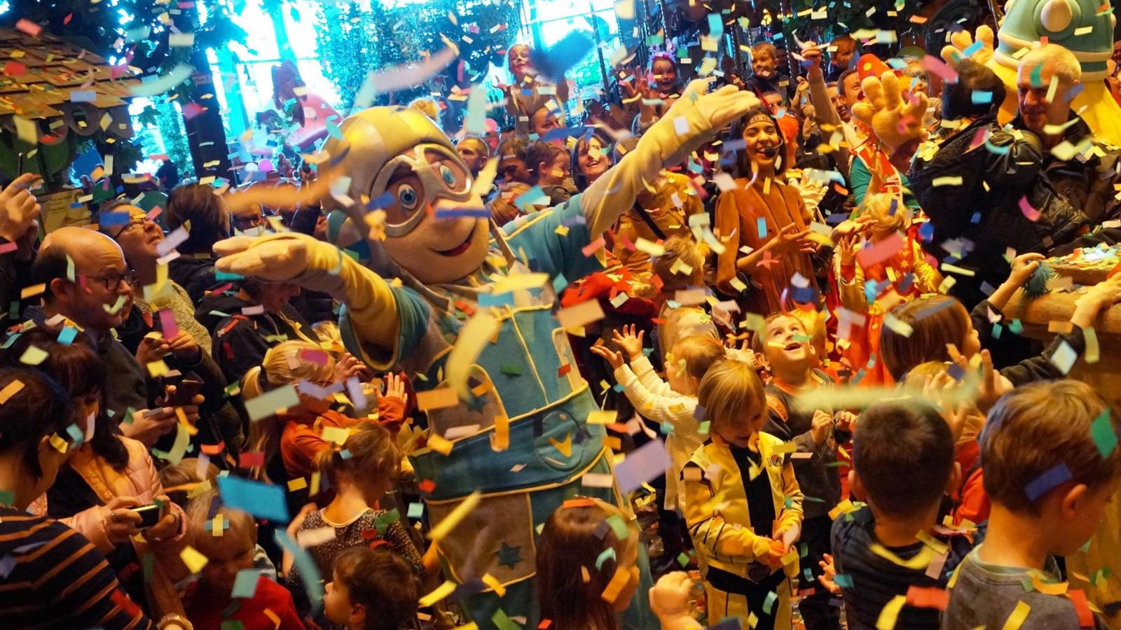 Carnaval barst tijdens krokusvakantie los in de Plopsa-parken
