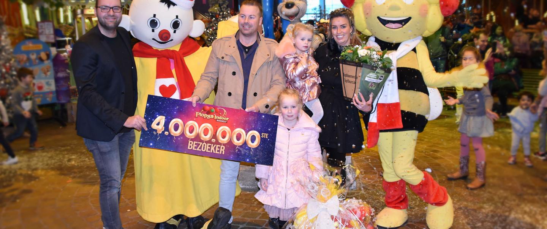 VIDEO: Plopsa Indoor Hasselt verwelkomt 4 miljoenste bezoeker